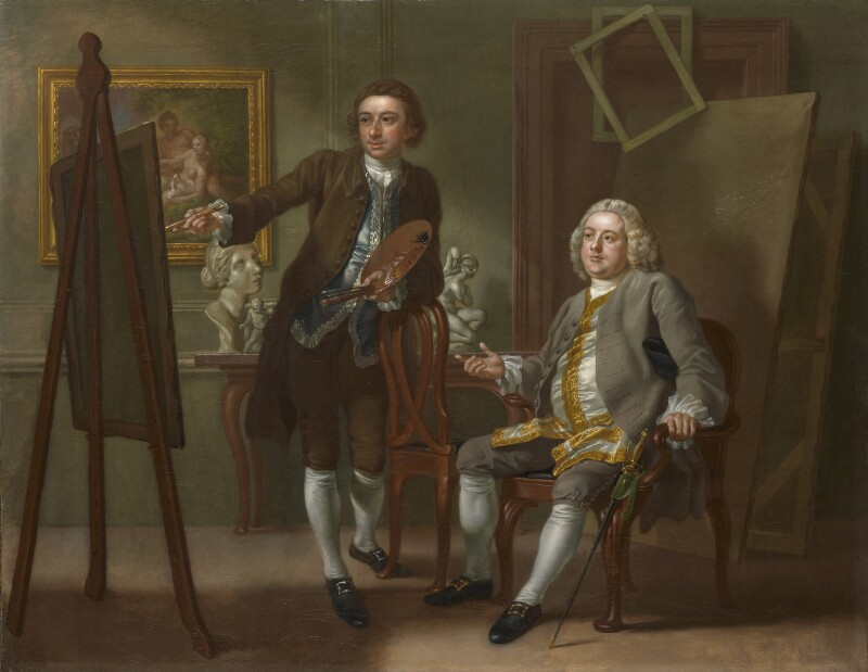Francis Hayman; Grosvenor Bedford, by Francis Hayman, circa 1748-1750 -NPG 217 - © National Portrait Gallery, London
