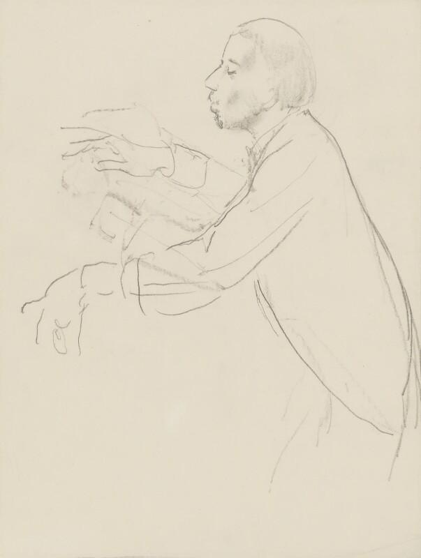 Sir Thomas Beecham, 2nd Bt, by Ernest Procter, 1929 - NPG 4975(11) - © National Portrait Gallery, London