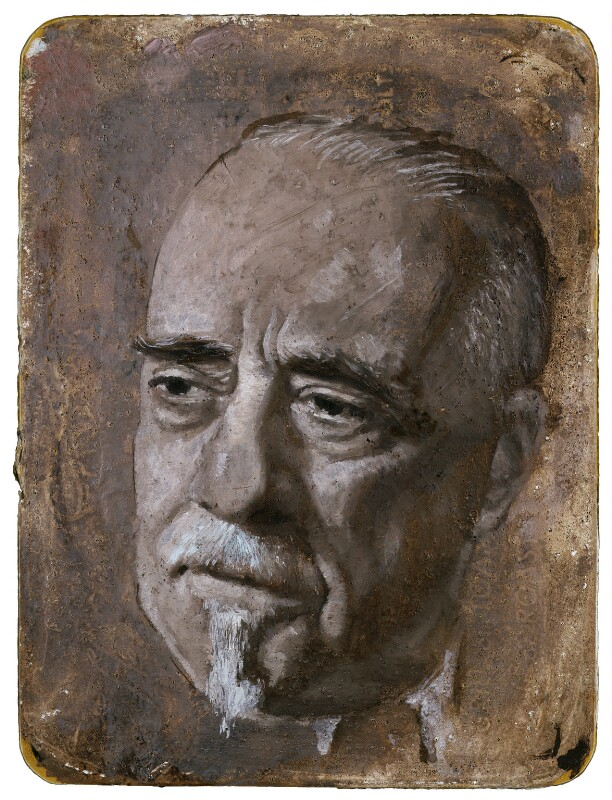 Sir Thomas Beecham, 2nd Bt, by Gordon Stuart, 1953-1954 - NPG L106 -