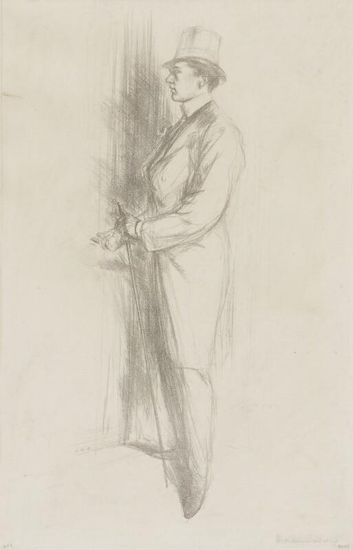 Sir Max Beerbohm, by Charles Haslewood Shannon, 1896 - NPG 4330 - © National Portrait Gallery, London