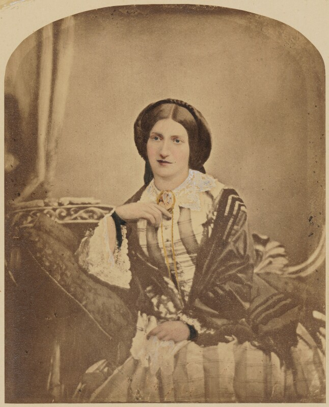 Isabella Beeton (Mrs Beeton), by Maull & Polyblank, 1857 - NPG P3 - © National Portrait Gallery, London