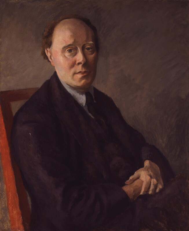 Clive Bell, by Roger Fry, circa 1924 - NPG 4967 - © National Portrait Gallery, London