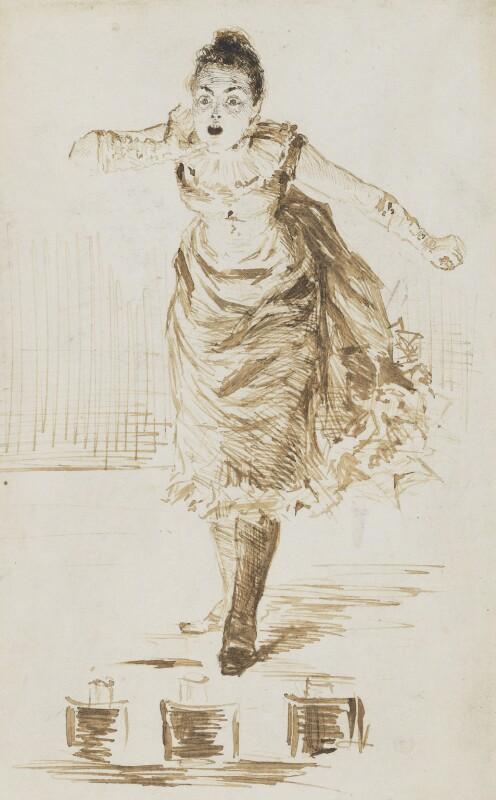 Bessie Bellwood, by Unknown artist,  - NPG 3968 - © National Portrait Gallery, London