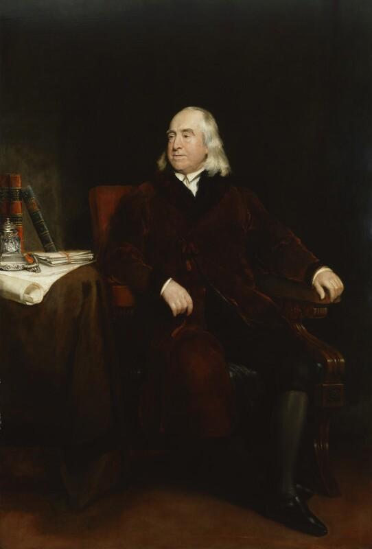 Jeremy Bentham, by Henry William Pickersgill, exhibited 1829 - NPG 413 - © National Portrait Gallery, London