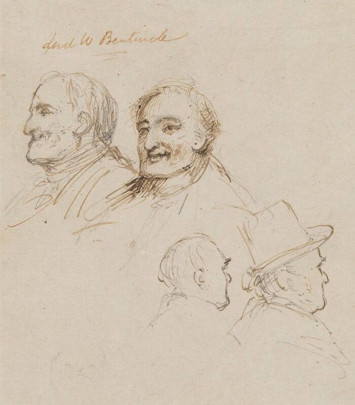 Lord William Cavendish Bentinck, by James Atkinson, circa 1833 -NPG 848 - © National Portrait Gallery, London