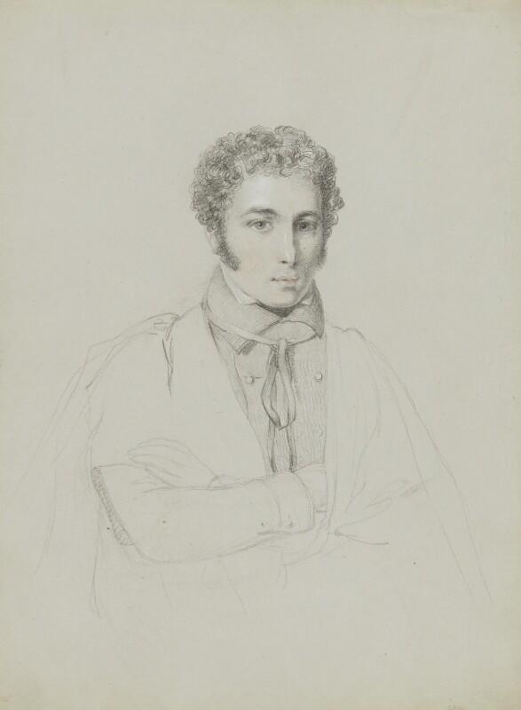 Albert James Bernays, by William Brockedon, 1823-1849 - NPG 2515(102) - © National Portrait Gallery, London