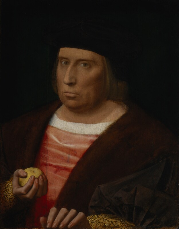 John Bourchier, 2nd Baron Berners, by Unknown Netherlandish artist, circa 1520-1530 - NPG 4953 - © National Portrait Gallery, London