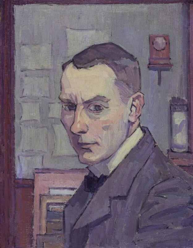 Robert Polhill Bevan, by Robert Polhill Bevan, 1913-1914 - NPG 5201 - © National Portrait Gallery, London