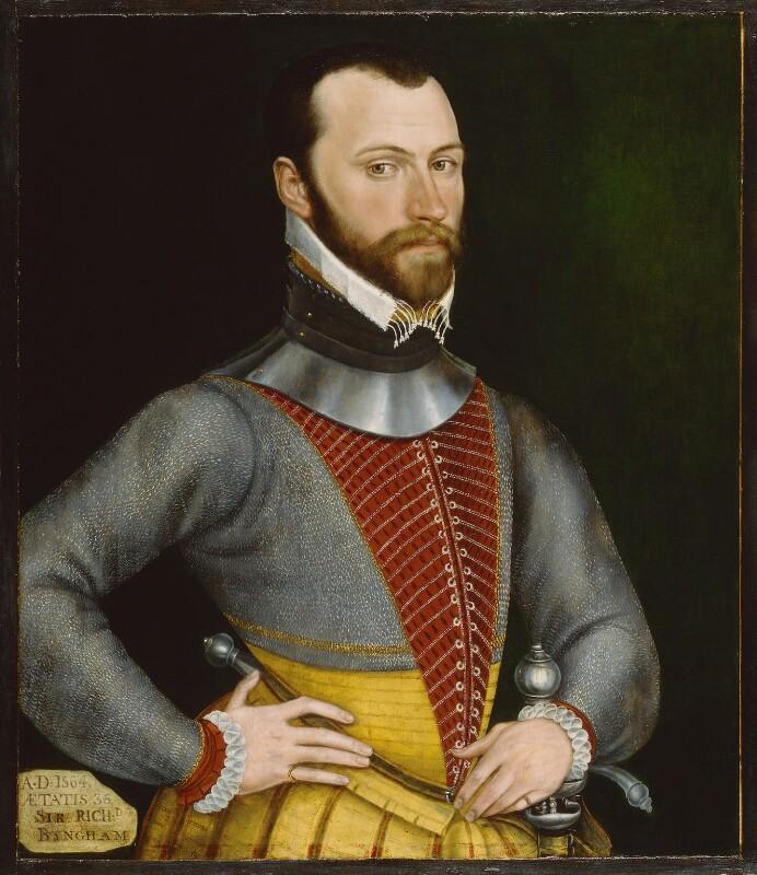 Sir Richard Bingham, by Unknown artist, 1564 - NPG 3793 - © National Portrait Gallery, London