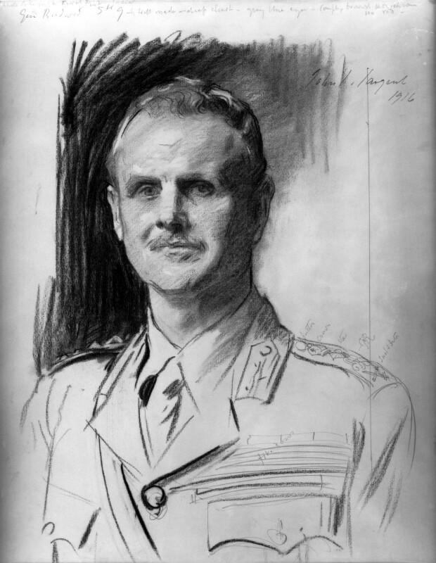 William Riddell Birdwood, 1st Baron Birdwood, by John Singer Sargent, 1916 - NPG 4186 - © National Portrait Gallery, London
