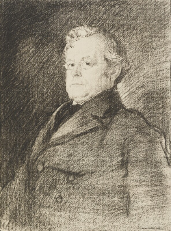 Augustine Birrell, by Sir William Orpen, 1909 - NPG 2791 - © National Portrait Gallery, London