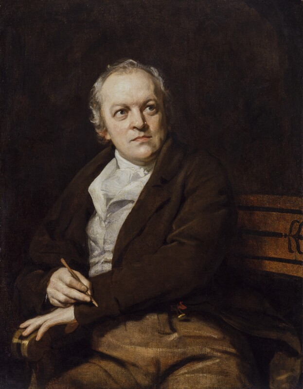 William Blake, by Thomas Phillips, 1807 -NPG 212 - © National Portrait Gallery, London