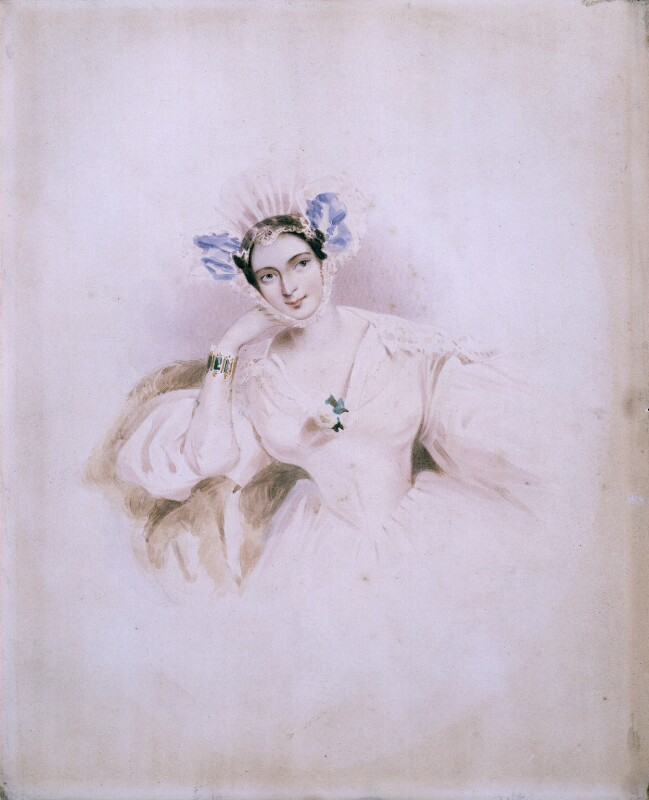 Marguerite, Countess of Blessington, by or after Alfred Edward Chalon, circa 1834 - NPG 1309 - © National Portrait Gallery, London