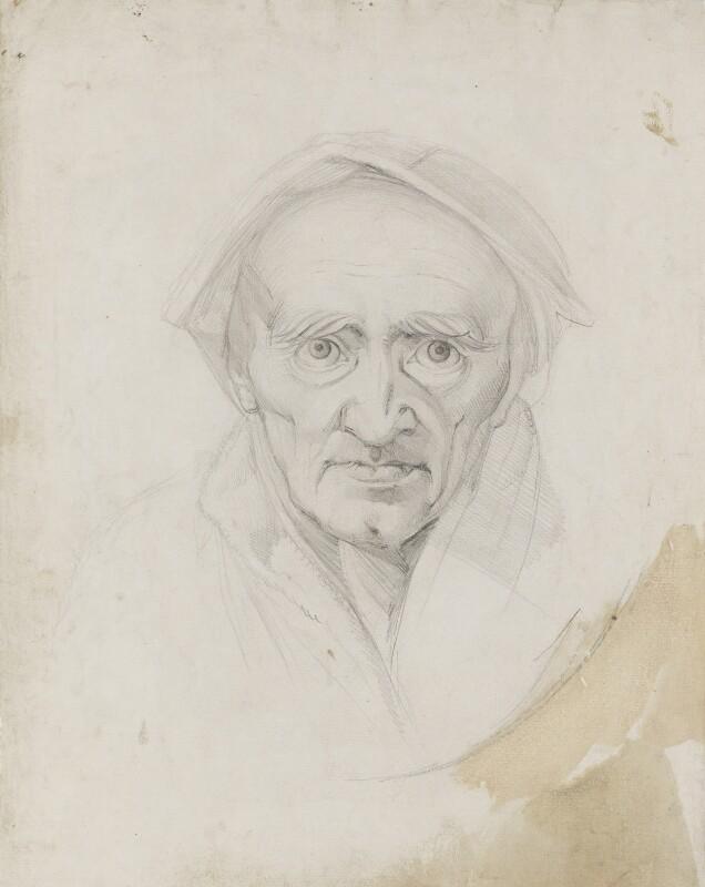 Johann Jakob Bodmer, by Henry Fuseli, 1778-1779 -NPG 3027 - © National Portrait Gallery, London