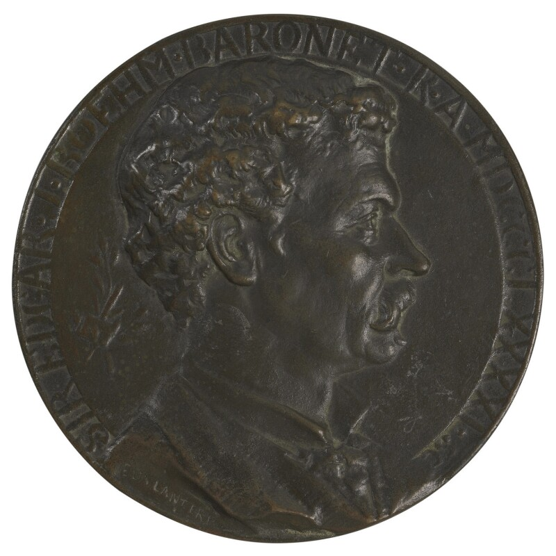 Sir Joseph Edgar Boehm, 1st Bt, by Edward (Edouard) Lanteri, 1891 - NPG 5273 - © National Portrait Gallery, London