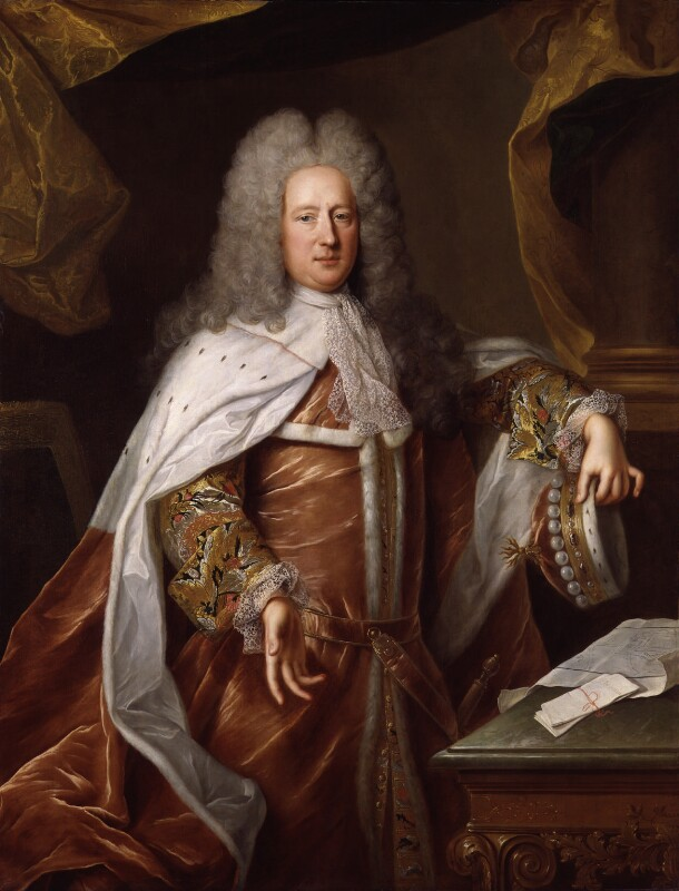 Henry St John, 1st Viscount Bolingbroke, attributed to Unknown French artist, circa 1712-1714 - NPG 593 - © National Portrait Gallery, London