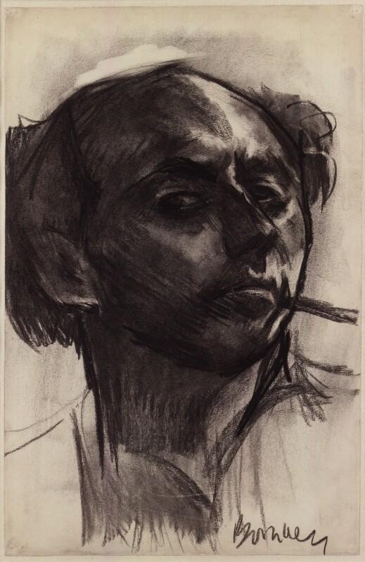 David Bomberg, by David Garshen Bomberg, 1931 - NPG 4821 - © National Portrait Gallery, London