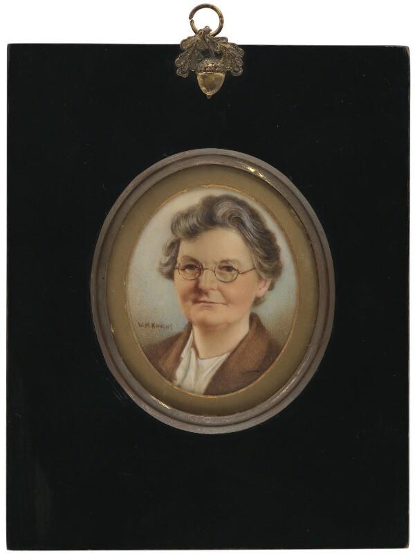 Margaret Grace Bondfield, by W. Milner Knight, 1937 - NPG 3966 - © estate of W. Milner Knight