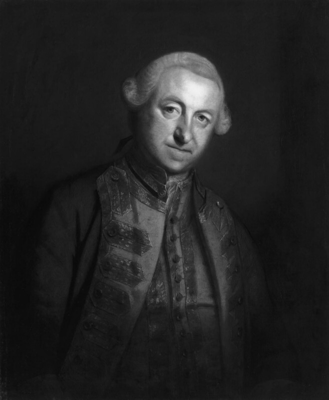 Edward Boscawen, by Sir Joshua Reynolds, based on a work of circa 1755 -NPG 44 - © National Portrait Gallery, London