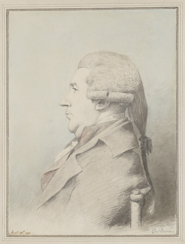 James Boswell, by George Dance, 1793 - NPG 1139 - © National Portrait Gallery, London
