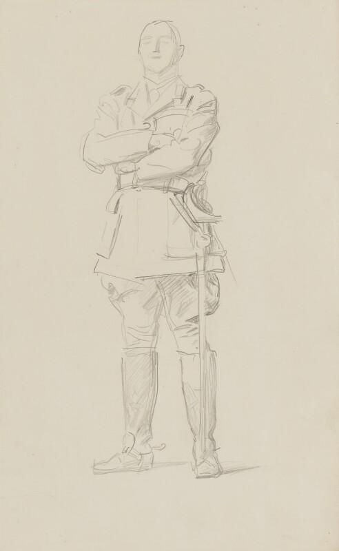 Louis Botha, by John Singer Sargent, circa 1922 - NPG 2908(8) - © National Portrait Gallery, London