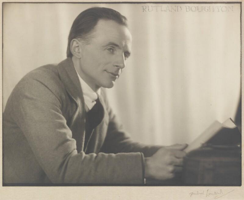 Rutland Boughton, by Herbert Lambert, circa 1922 - NPG P111 - © National Portrait Gallery, London