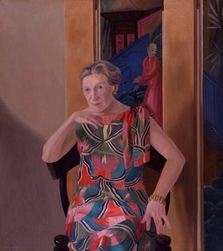 Elizabeth Bowen, by André Paul Durand, 1969 - NPG 5134 - © André Durand / National Portrait Gallery, London