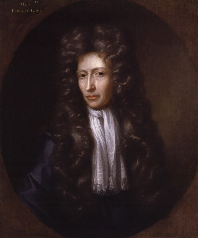 Robert Boyle, by Johann Kerseboom, based on a work of circa 1689-1690 -NPG 734 - © National Portrait Gallery, London