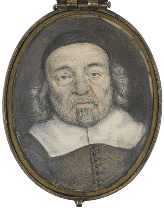 Unknown man, formerly known as John Bradshaw, by Unknown artist, 17th century - NPG 2131 - © National Portrait Gallery, London