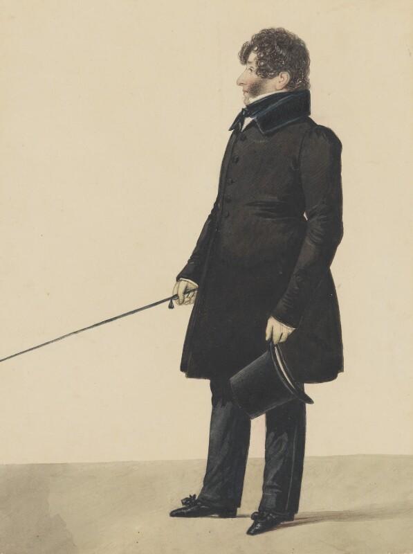 John Braham, by Richard Dighton, 1815-1820 - NPG 1637 - © National Portrait Gallery, London