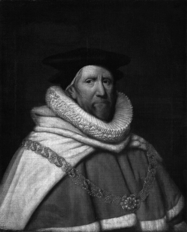 Sir John Bramston, by Unknown artist, probably 1635 or after - NPG 462 - © National Portrait Gallery, London