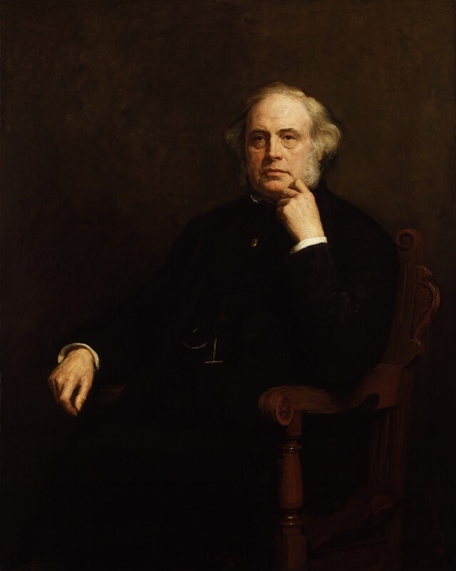 John Bright, by Walter William Ouless, 1879 - NPG 817 - © National Portrait Gallery, London