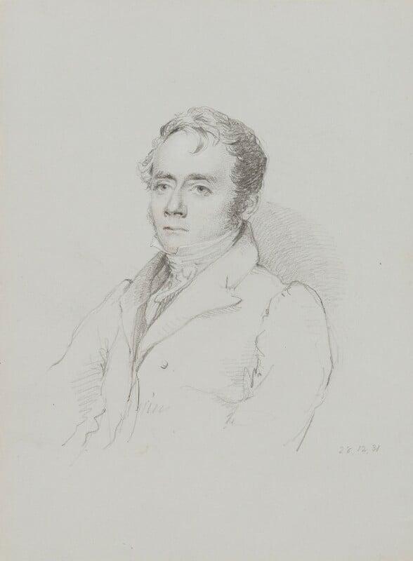John Britton, by William Brockedon, 1831 -NPG 2515(44) - © National Portrait Gallery, London