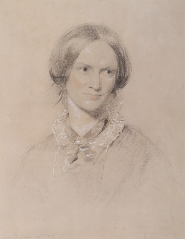 Charlotte Brontë, by George Richmond, 1850 - NPG 1452 - © National Portrait Gallery, London