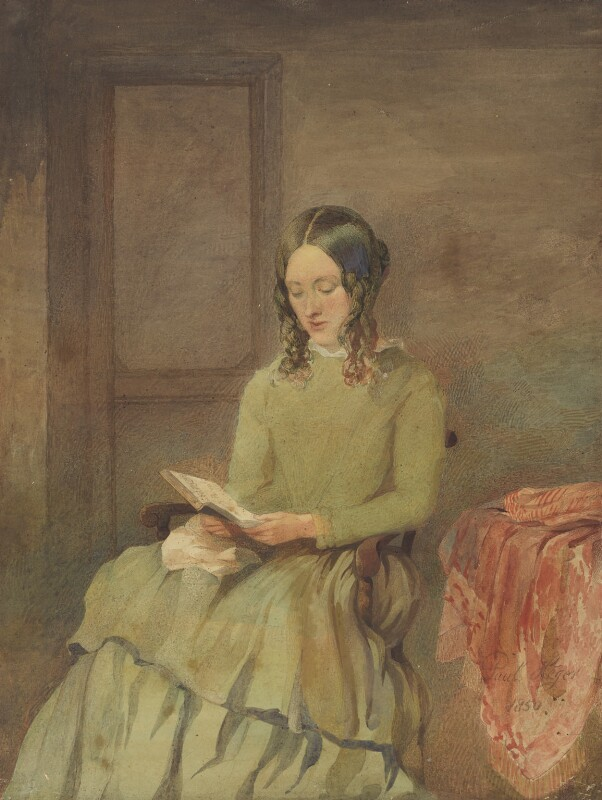 Unknown woman, formerly known as Charlotte Brontë, by Unknown artist, 1850 - NPG 1444 - © National Portrait Gallery, London