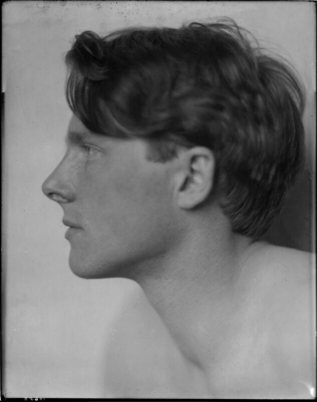 Rupert Brooke, by Sherrill Schell, April 1913 - NPG P101(b) - © reserved; collection National Portrait Gallery, London