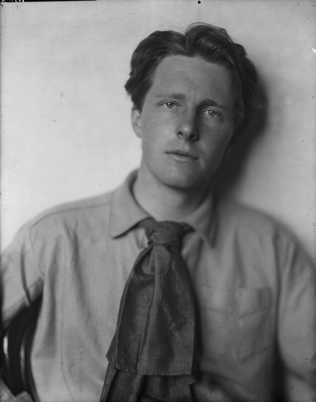 Rupert Brooke, by Sherrill Schell, April 1913 - NPG P101(c) - © reserved; collection National Portrait Gallery, London