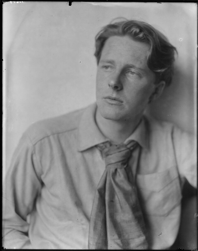Rupert Brooke, by Sherrill Schell, April 1913 - NPG P101(d) - © reserved; collection National Portrait Gallery, London