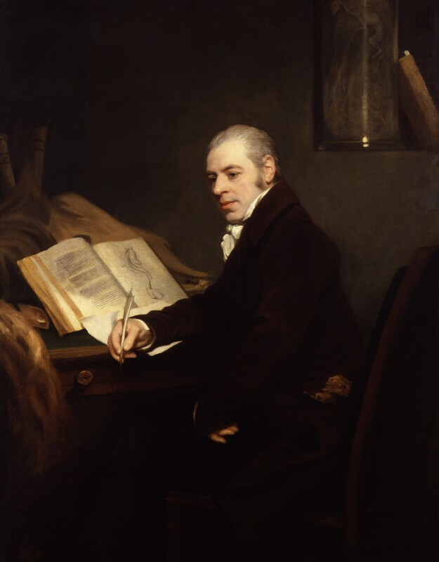 Joshua Brookes, by Thomas Phillips, 1815 - NPG 5002 - © National Portrait Gallery, London