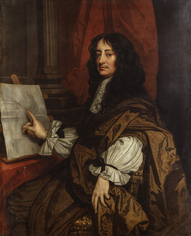 William Brouncker, 2nd Viscount Brouncker, possibly after Sir Peter Lely, circa 1674, based on a work of circa 1674 - NPG 1567 - © National Portrait Gallery, London
