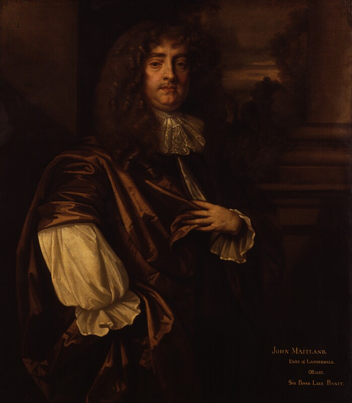 Henry Brouncker, 3rd Viscount Brouncker, after Sir Peter Lely, based on a work of 1675 - NPG 1590 - © National Portrait Gallery, London