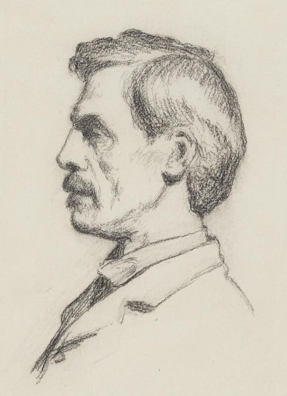 Frederick Brown, by Philip Wilson Steer, 1894 - NPG 2816 - © National Portrait Gallery, London