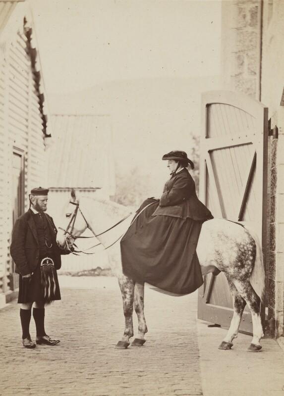 John Brown; Queen Victoria, by W. & D. Downey, 1868 - NPG P22(4) - © National Portrait Gallery, London