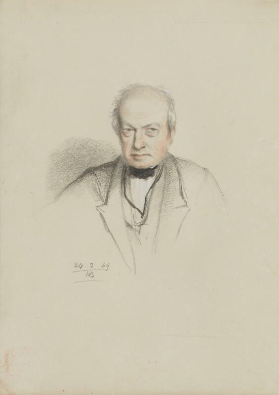 Robert Brown, by William Brockedon, 1849 - NPG 2515(100) - © National Portrait Gallery, London
