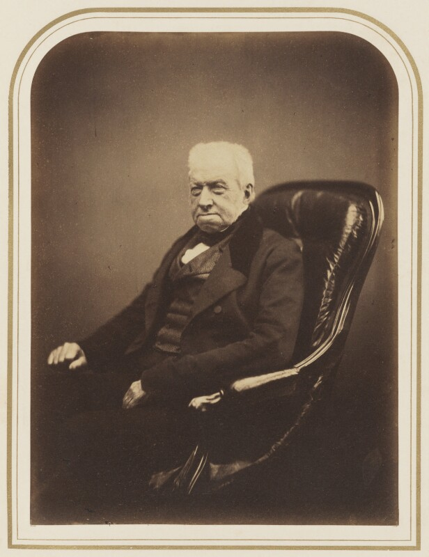 Robert Brown, by Maull & Polyblank, 1855 - NPG P120(41) - © National Portrait Gallery, London