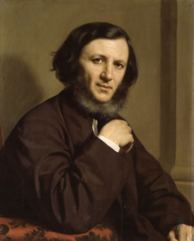 Robert Browning, by Michele Gordigiani, 1858 -NPG 1898 - © National Portrait Gallery, London