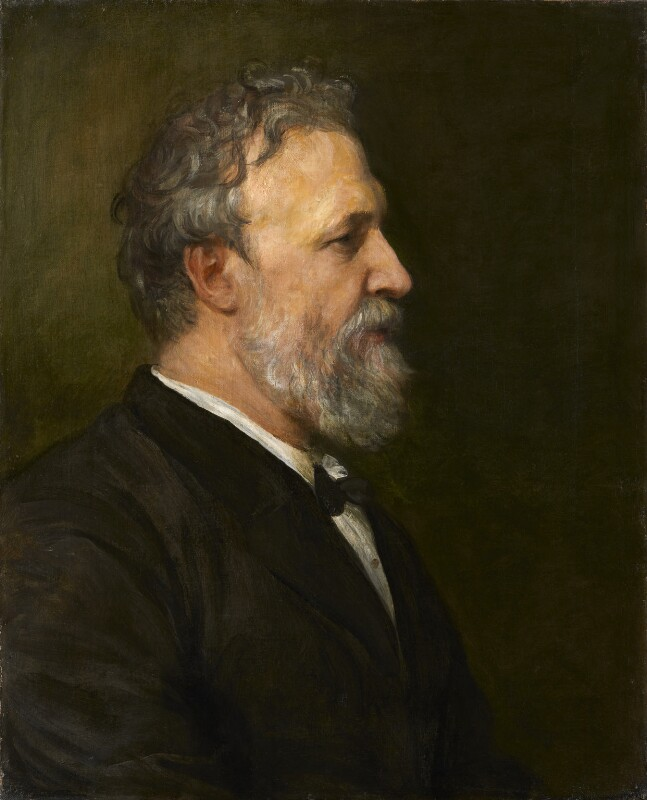 Robert Browning, by George Frederic Watts, 1866 - NPG 1001 - © National Portrait Gallery, London