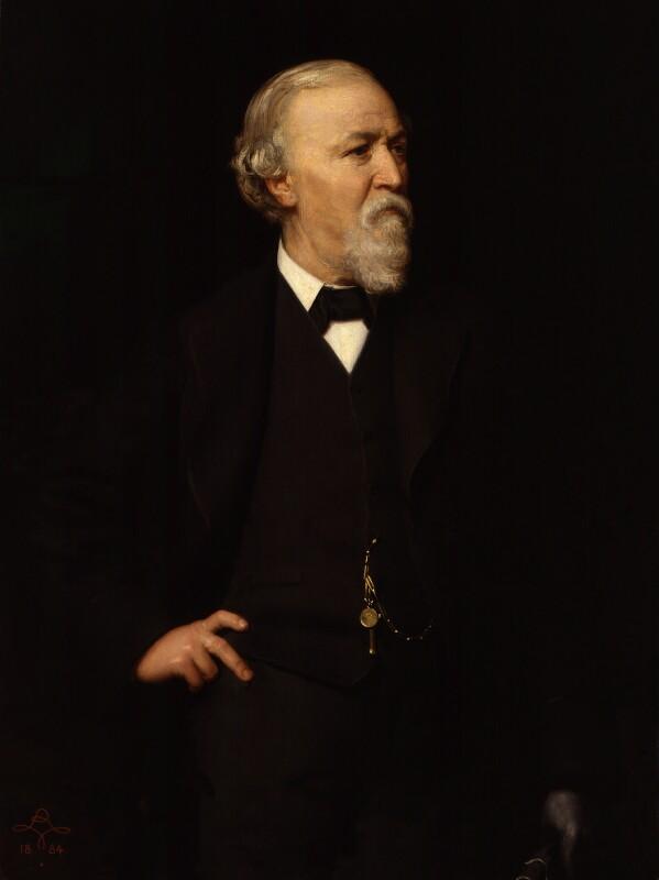 Robert Browning, by (Wilhelm Augustus) Rudolf Lehmann, 1884 -NPG 839 - © National Portrait Gallery, London