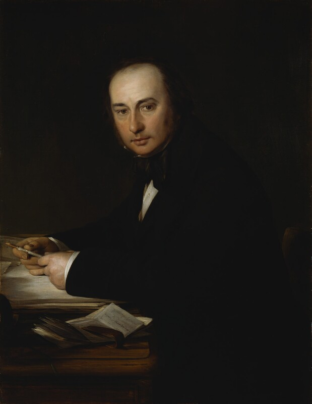 Isambard Kingdom Brunel, by John Callcott Horsley, 1857 - NPG 979 - © National Portrait Gallery, London