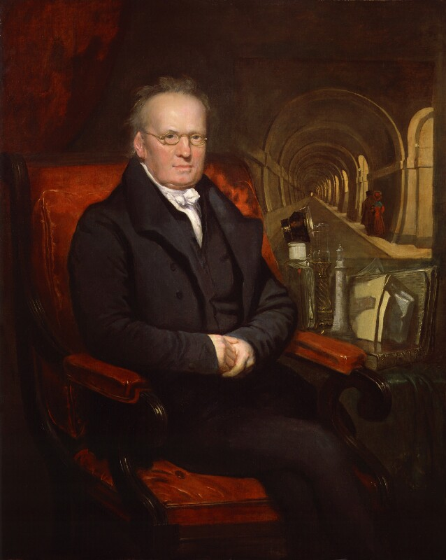 Sir Marc Isambard Brunel, by Samuel Drummond, circa 1835 - NPG 89 - © National Portrait Gallery, London